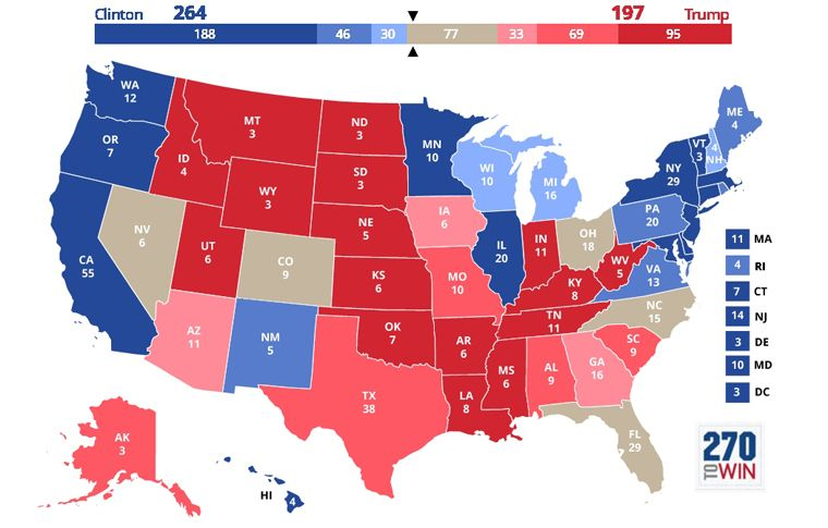 My Picks Map | Newslines | Election map, Us presidential elections ...