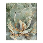 Found it at Joss & Main - Golden Succulent Canvas Print, Oliver Gal