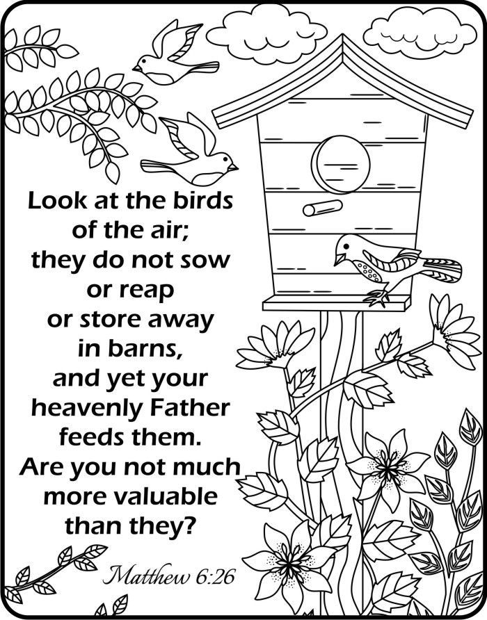 Image result for verse matthew 10:210 colouring page | projects ...