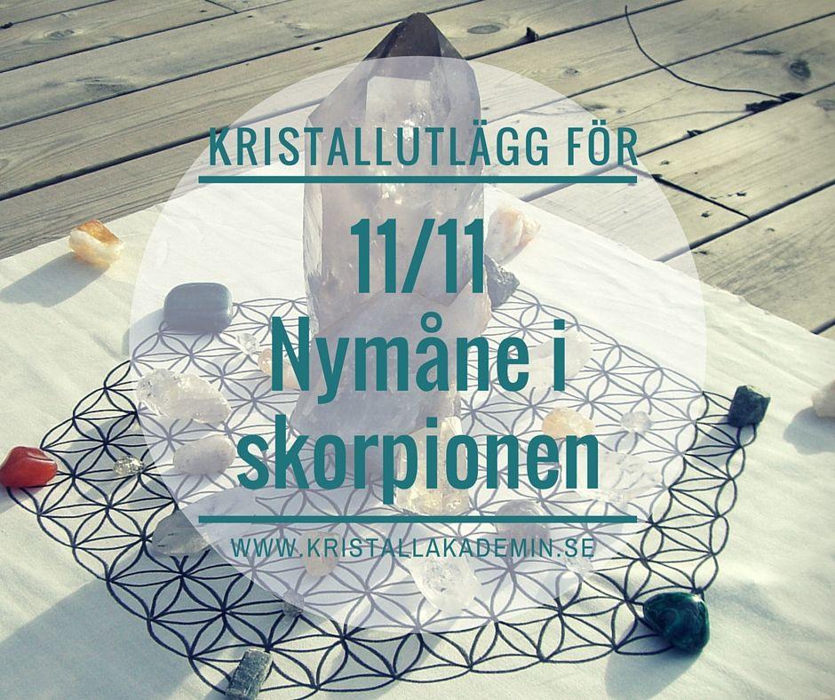 Manifestera nu! Nymånen 11/11 i Skorpionen Öppnar för Dina Önskningar! - Kristallakademin