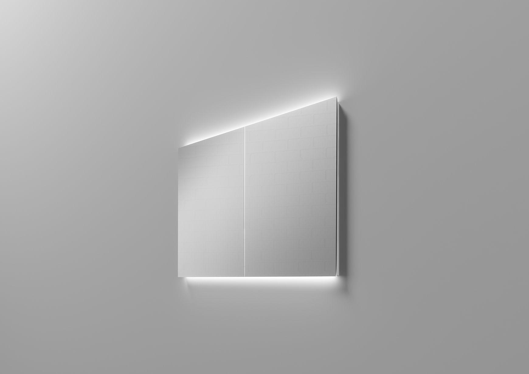 Ungewohnlicher Spiegelschrank Zur Verschonerung Ihrer Wohnkultur In 2020 Led Aufbauleuchte Spiegel Led Wand