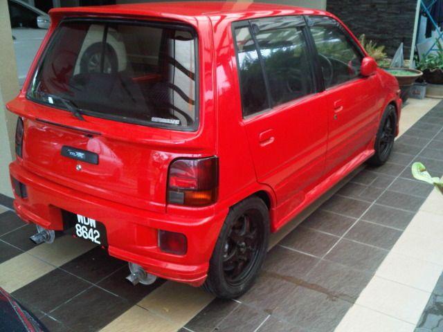 Updated Perodua Kancil Daihatsu Mira Photo Shots Daihatsu K