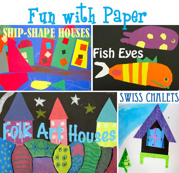 Fun with Paper Art Lesson Plans from Deep Space Sparkle