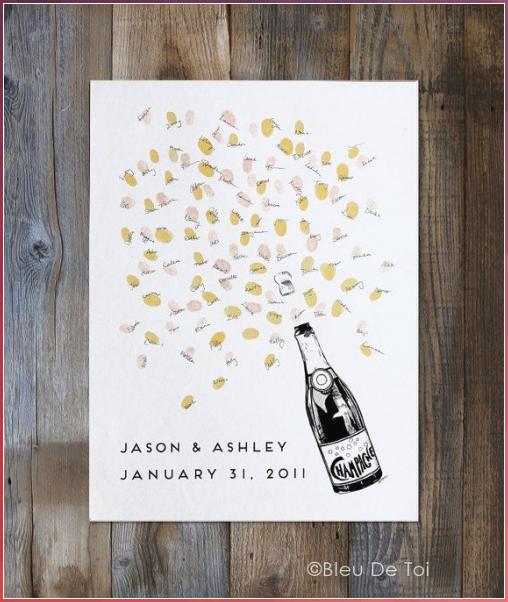Wedding Guest Book Alternative, unique guestbook , Champagne Bottle +ink pad, fingerprint tree , custom guestbook, custom wedding, art deco #Wedding #Guest #Book #Alternative, #unique #guestbook #Champagne #Bottle #+ink #pad, #fingerprint #tree #custom #guestbook, #custom #wedding, #art #deco