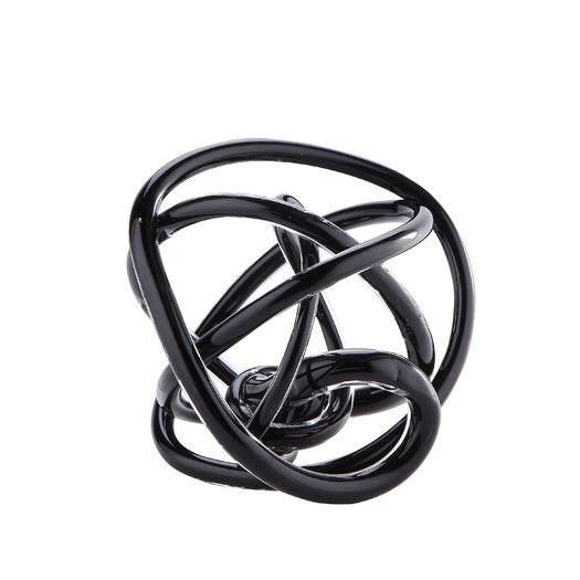 Diamond Star Glass Glass Knot Sculpture Contemporary Decorative Objects Easy Furniture Plans Diamond Star