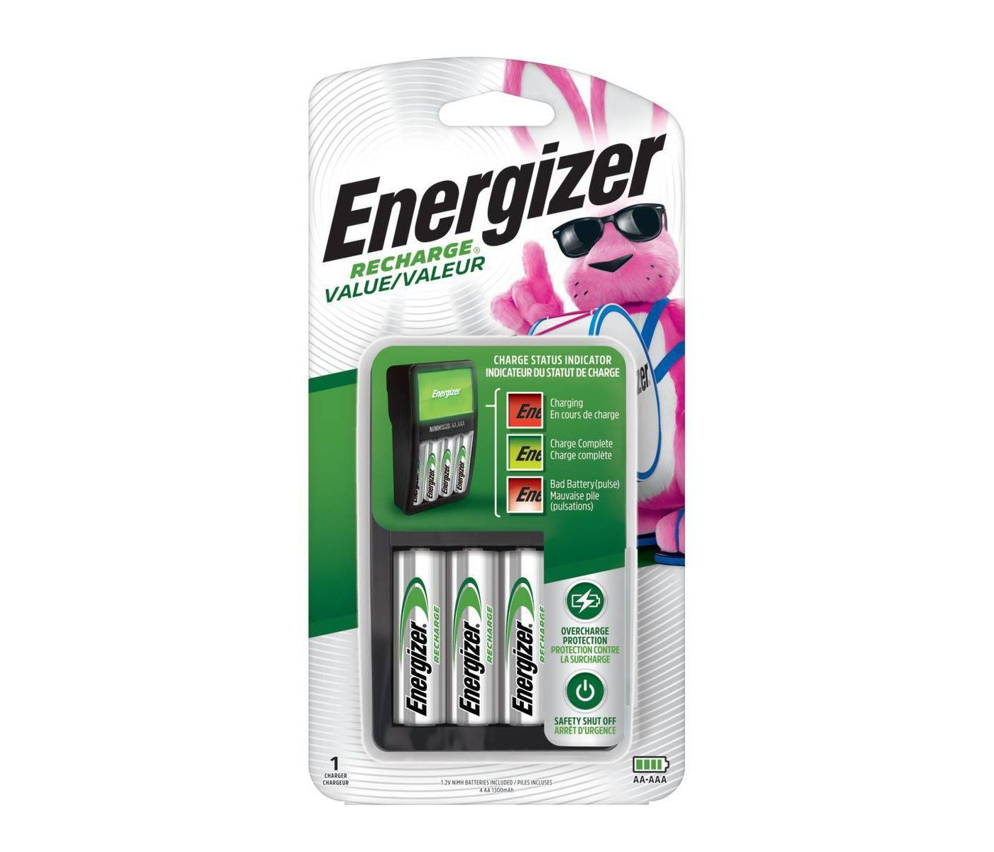 The Best Rechargeable Battery Charger For Aa And Aaa Batteries Aa Battery Charger Rechargeable Battery Charger Rechargeable Batteries