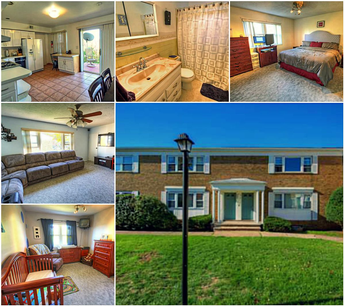 Must see this spacious and private 2 bedroom 1 bath unit in edison nj