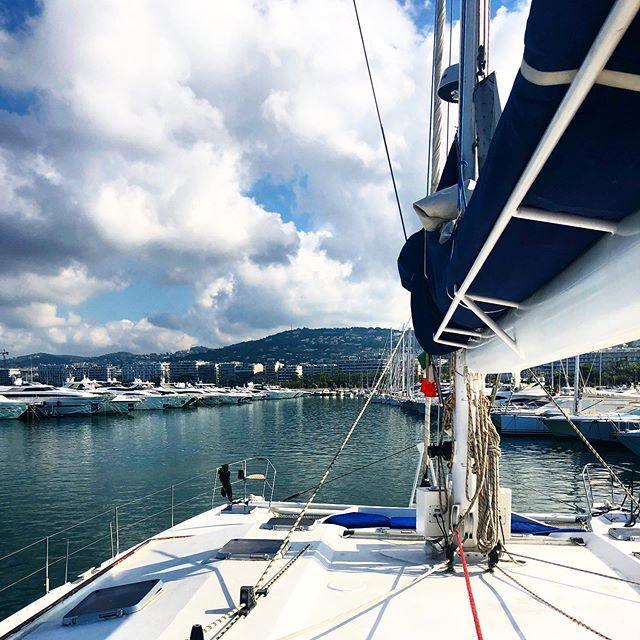 M a r g a u x D e l o b e l sur Instagram: En route 👩🏻✈️ #Catamaran #capitaine #boat #Bateau #love #Sud #Cannes #IgersCannes #newcity #Sun #goodday #souvenir 😍 @fierdusud @cannesisyours