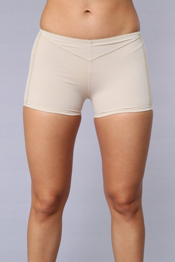 5512d4e589c Butt Lifter Boy Short - Beige