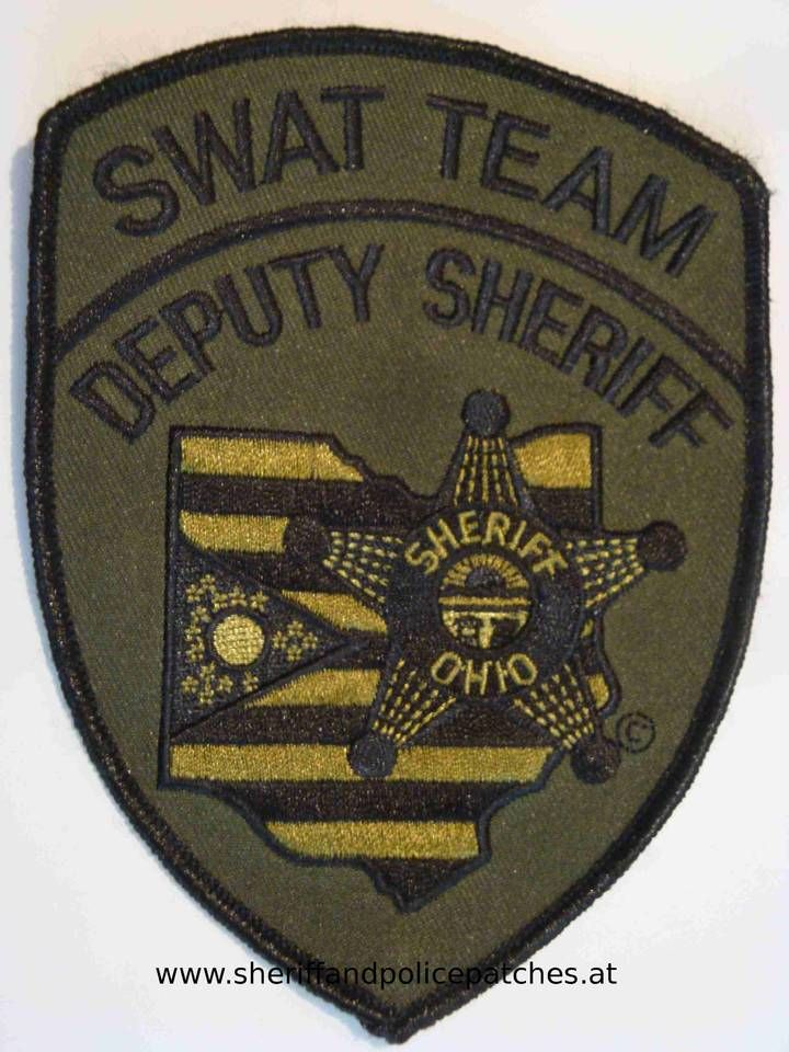 Sheriff Swat Nr 50 Ohio Deputy Sheriff Swat Team New Condition