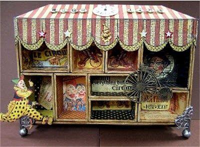 Le Cirque Configurations Box