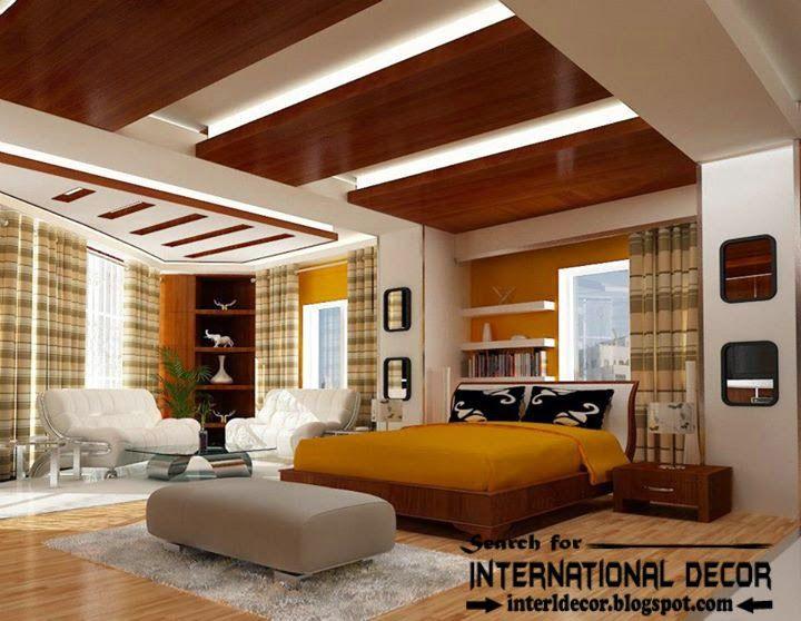 Contemporary Pop False Ceiling Designs For Bedroom 2015 New Endearing New Bedrooms Design Design Decoration