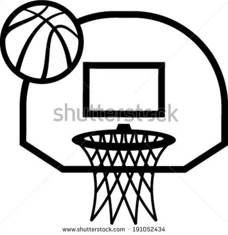 Gallery For Basketball Net Vector