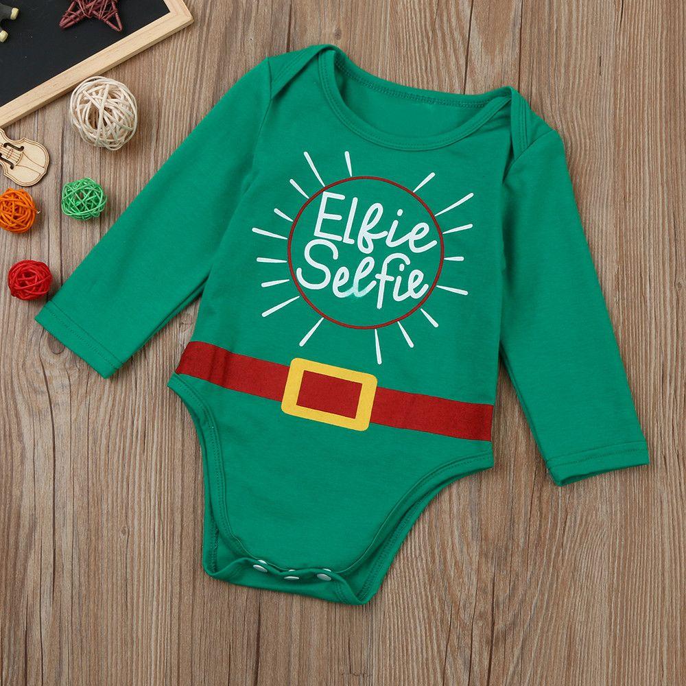 Christmas Pajamas Dress For Baby Girls Kids Boy Vestidos Newborn