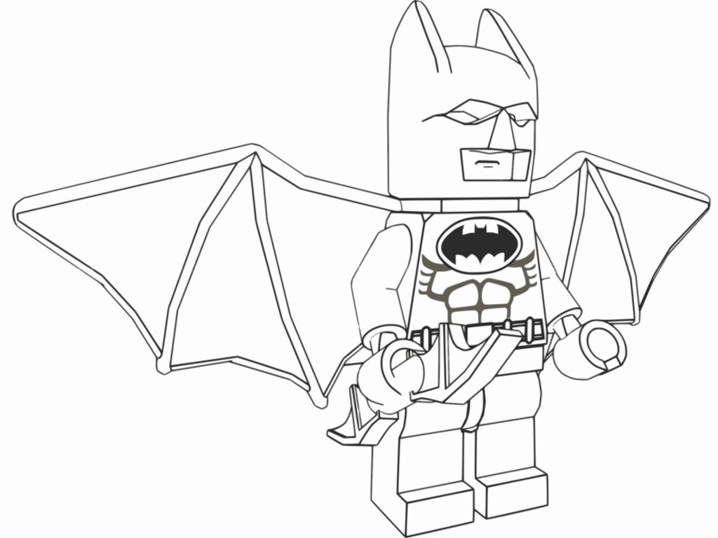 Lego Batman Coloring Pages Printable — Printable Coloring