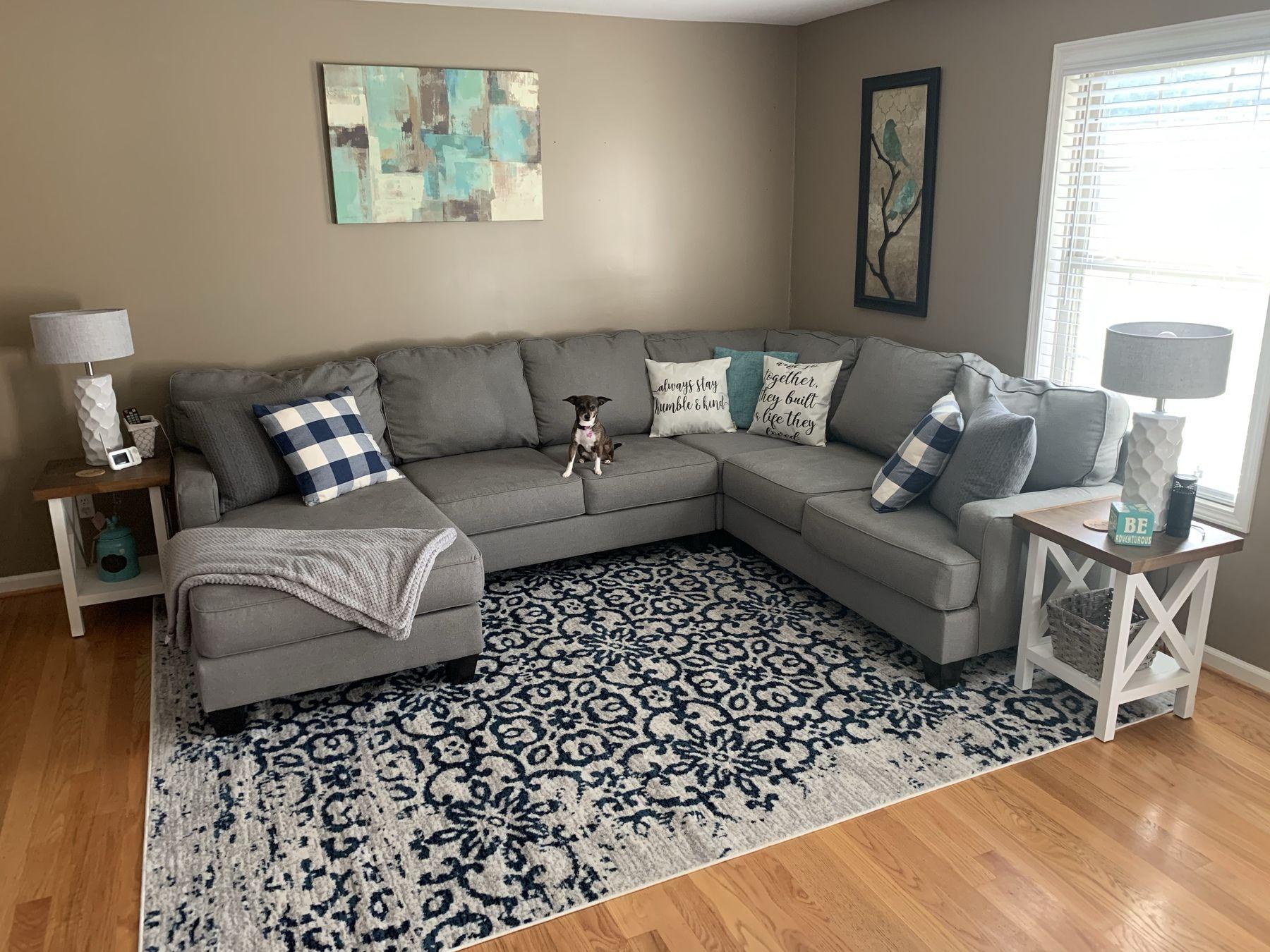 Distressed pattern area rug ashley furniture homestore