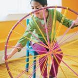 Hula Hoop Rug | Crafts | Spoonful