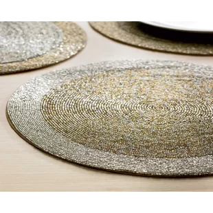 Round Placemats You Ll Love In 2020 Wayfair Red Barrel Studio Placemats Table Top