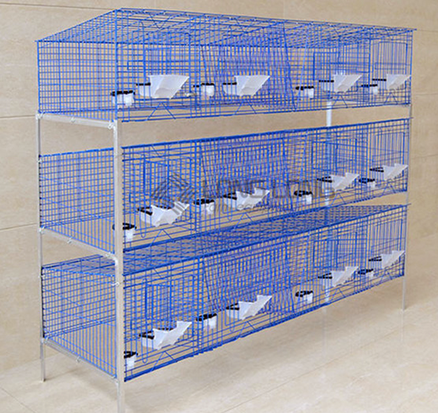 Source 2014 Cheap Commercial Rabbit Cage Manufactured In China On M Alibaba Com Rabbit Cages Rabbit Farm Rabbit Cage