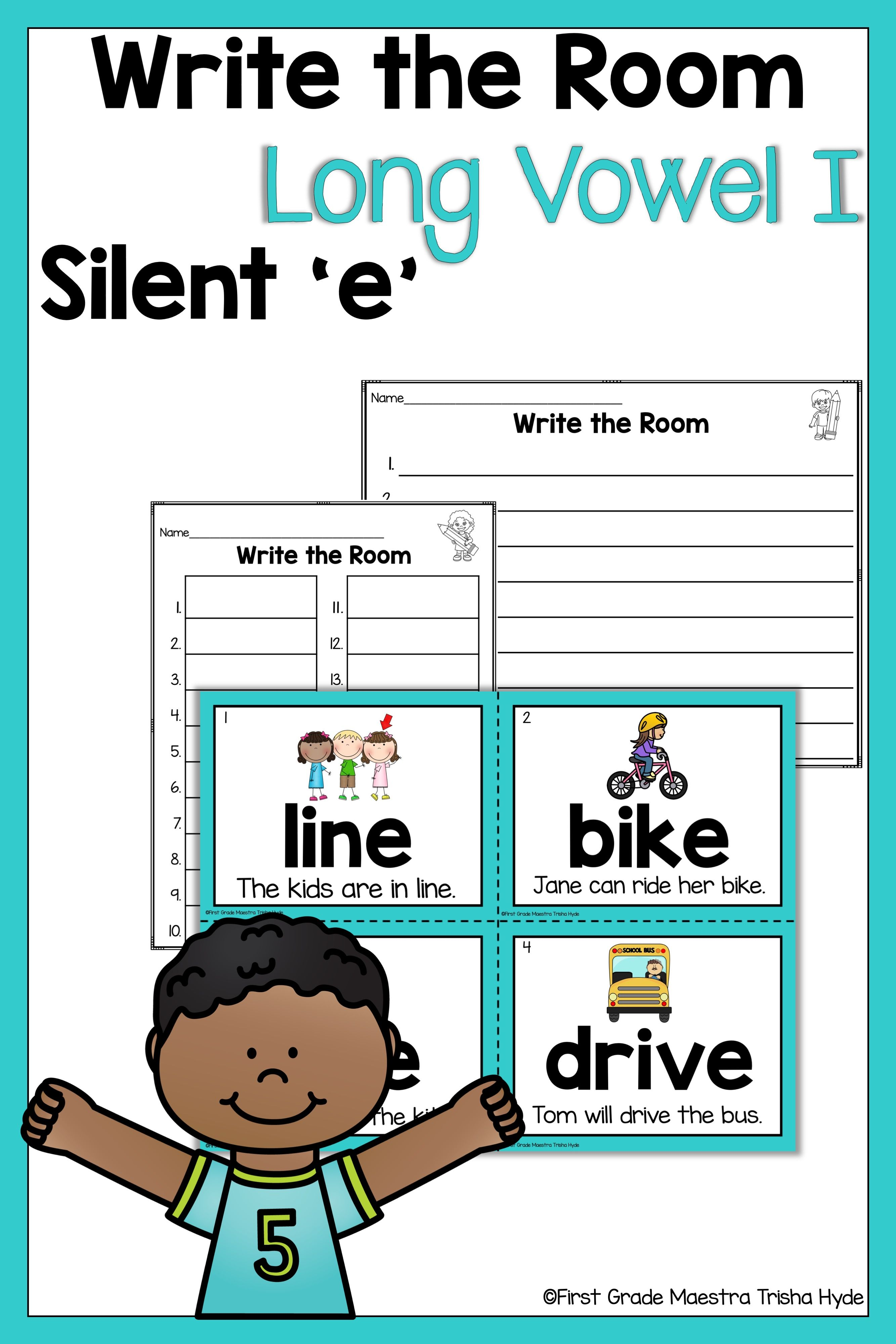 small resolution of Long Vowel With Silent E Worksheets   Printable Worksheets and Activities  for Teachers