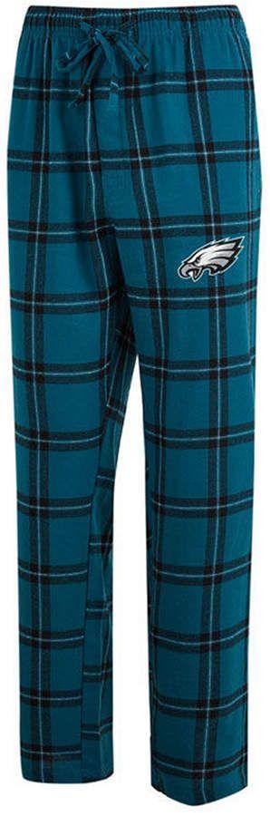 Concepts Sport Philadelphia Eagles Homestretch Flannel Pants