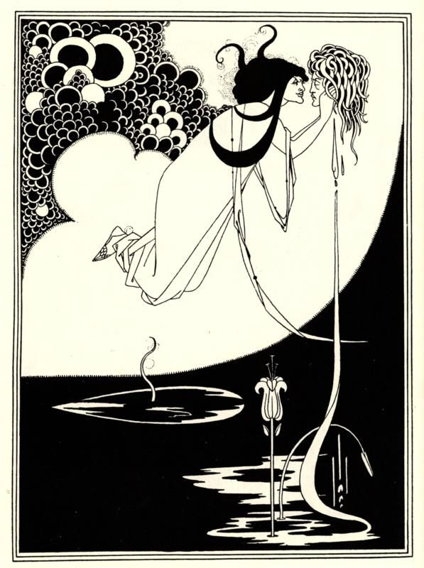 The Climax, 1893, Aubrey Beardsley