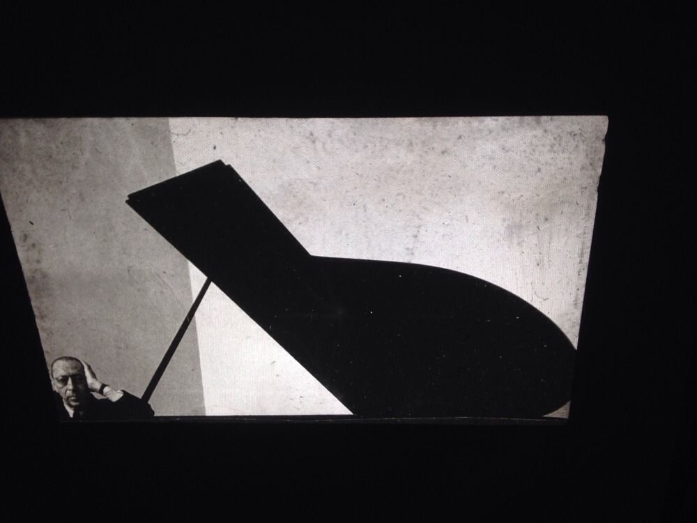 "Arnold Newman ""Igor Stravinsky 1946"" Photography 35mm Art Slide"