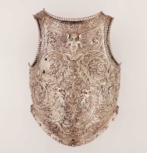 breastplate; the only signed work of Giovan Paolo Negroli (Italian, ca. 1513-1569) (x)