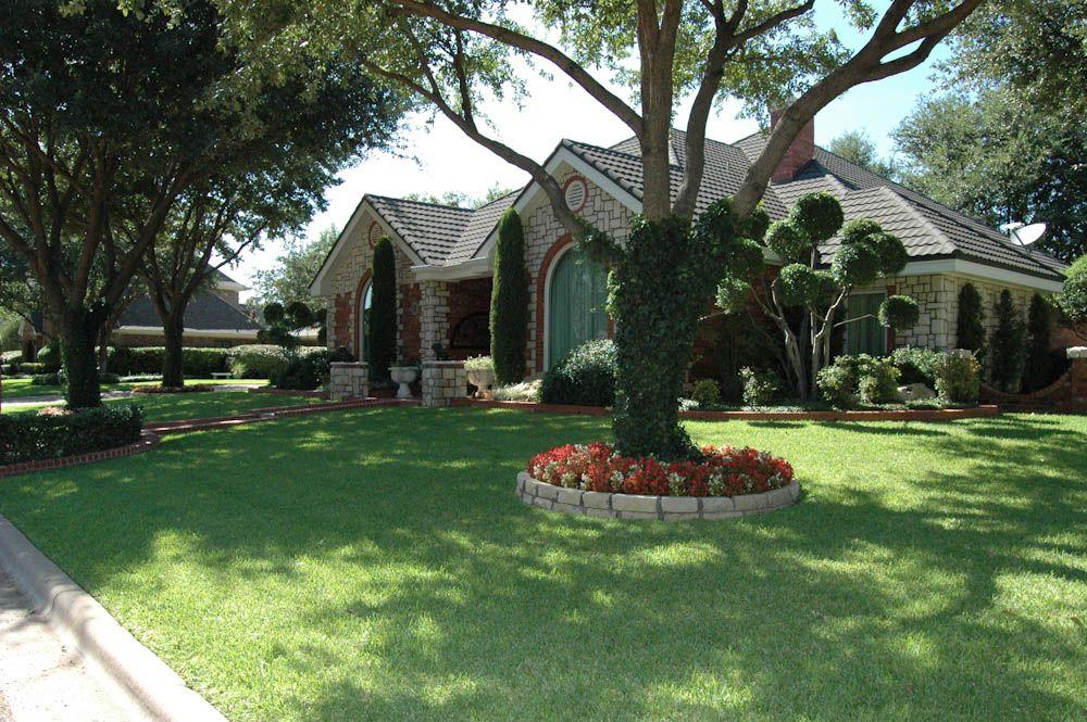 Landscape Dallas Design Abilene Landscaping Taylor Company