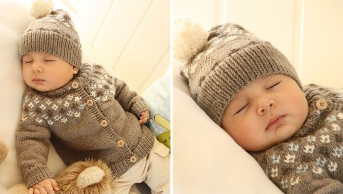 c656126b0ba1 This delightful First Snow knitted baby cardigan comes with a ...