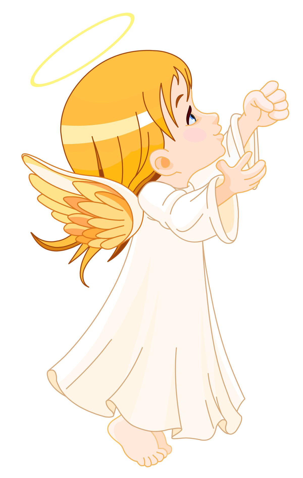 Cute Little Angel Large Size Png Clipart Angel Clipart Angel Illustration Angel Art