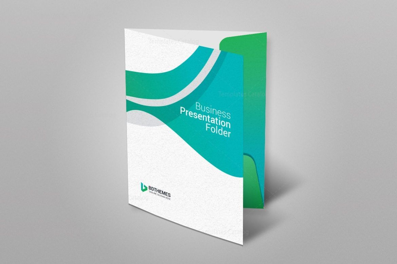 Insurance Presentation Folder Template 002341