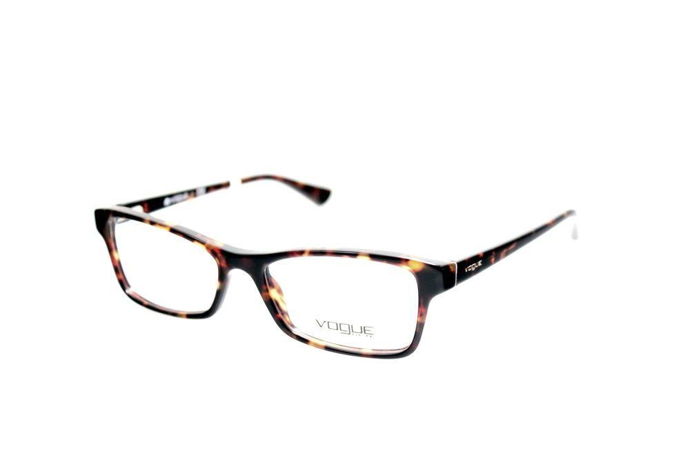 New Original Eyewear Vogue VO 2886 W656 Women\'s Tortoise Square Clear