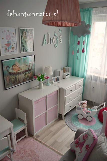 Pokoj Dziewczynki Ikea Pokoj Dzieciecy Pokoj Dziecka Pastelowy