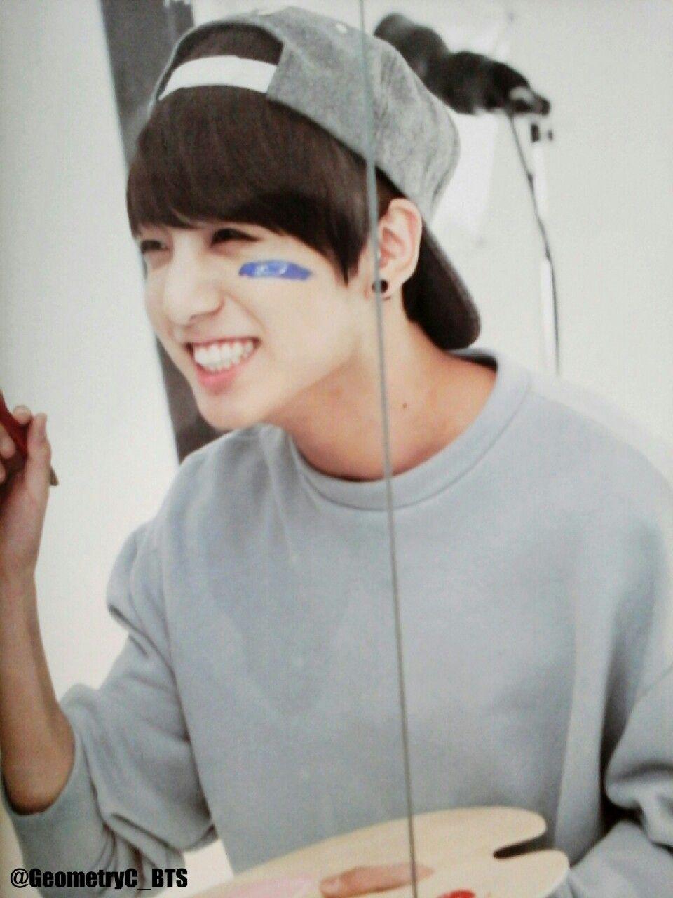 "SMILE :)   Jeon Jungkook ""BTS""   Pinterest   BTS and Kpop"