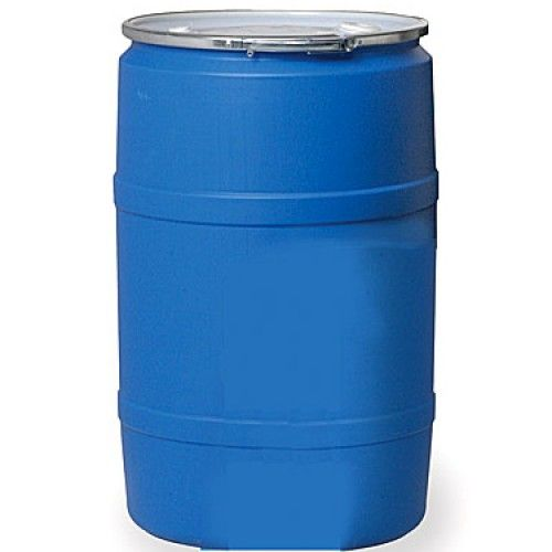 55 Gallon Drum Blue Open Head Water Storage STORAGE