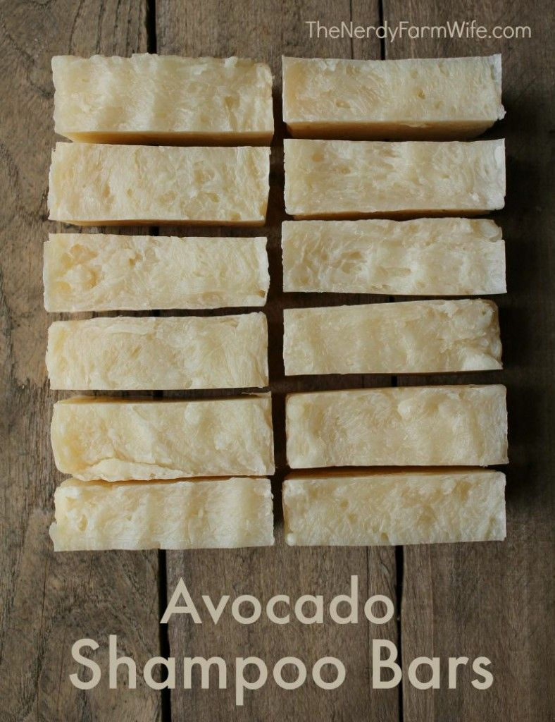 diy avocado shampoo bar recipe directions are given for both hot diy avocado shampoo bar recipe directions are given for both hot process and cold process