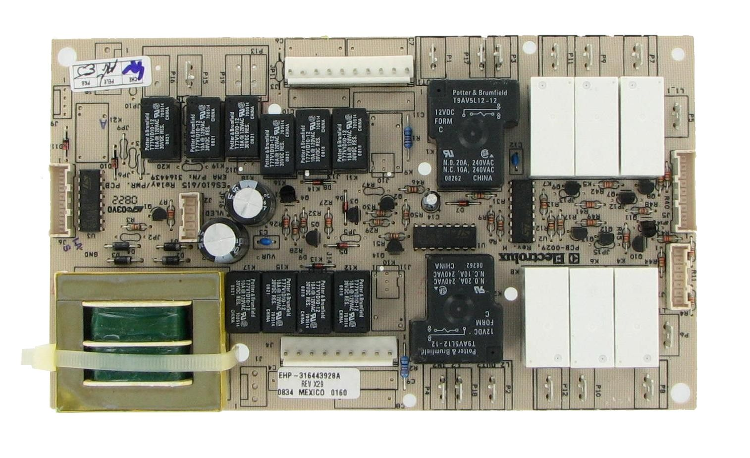 Frigidaire Electrolux Kenmore 316443928 Range Control Board Frigidaire Kenmore Boards