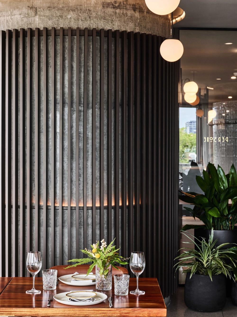 Plus Architecture Designs Chic Interior For Persone Restaurant In