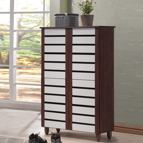 Shoe Cabinet With Open Shelves A Collection By Anglina