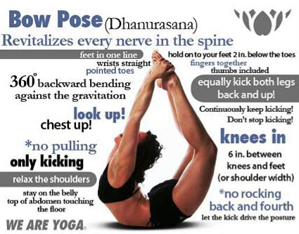 Bikram Yoga 19th Pose Bow Pose Dhanurasana Bikram Yoga Bikram Yoga Poses Yoga Tips