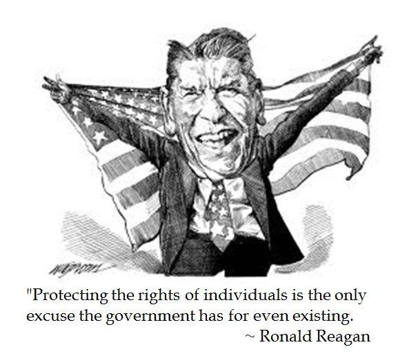 Ronald Reagan on Government