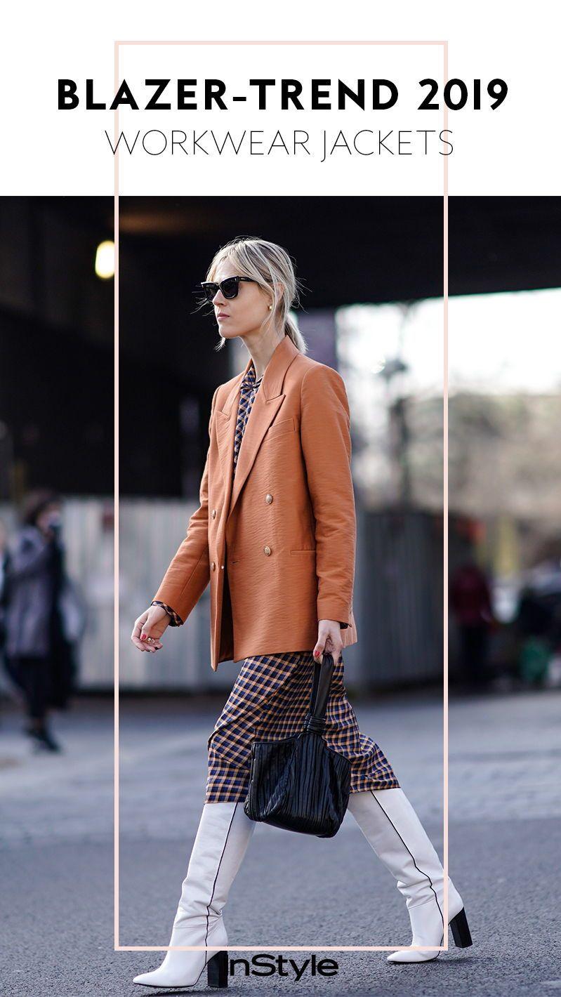 3ebcbcbd6c Blazer sind immer noch der absolute Fashion Trend. Wie wir sie 2019 stylen  und kombinieren
