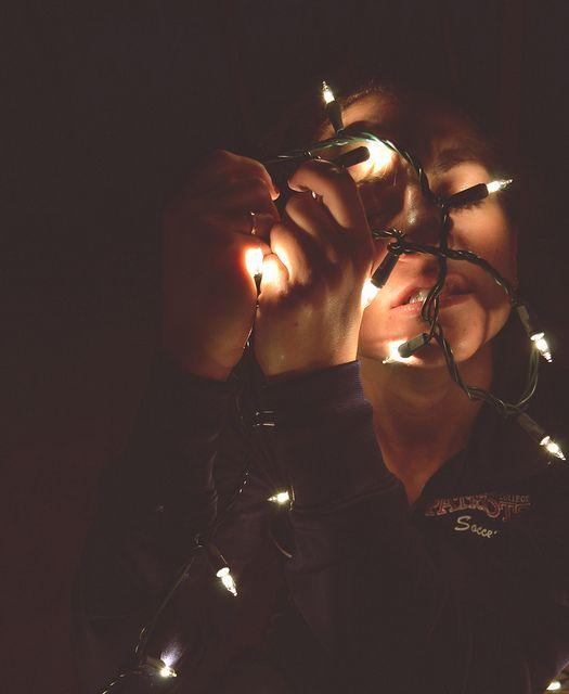 Inhale the lights fotograf a - Lucecitas de navidad ...