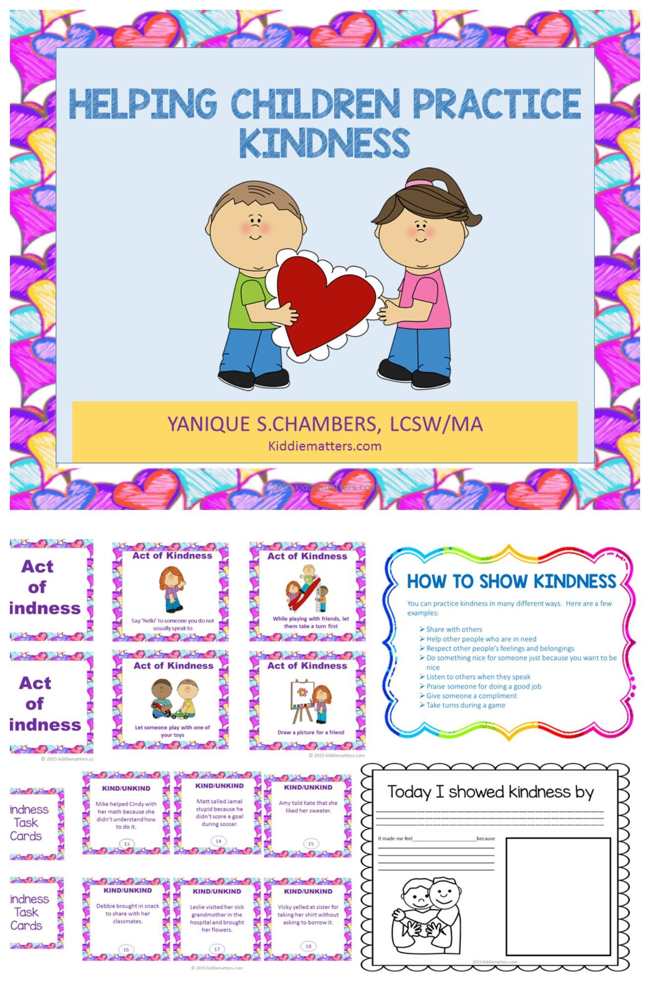 Character Education: Teaching Kids About Kindness | Child, Special ...