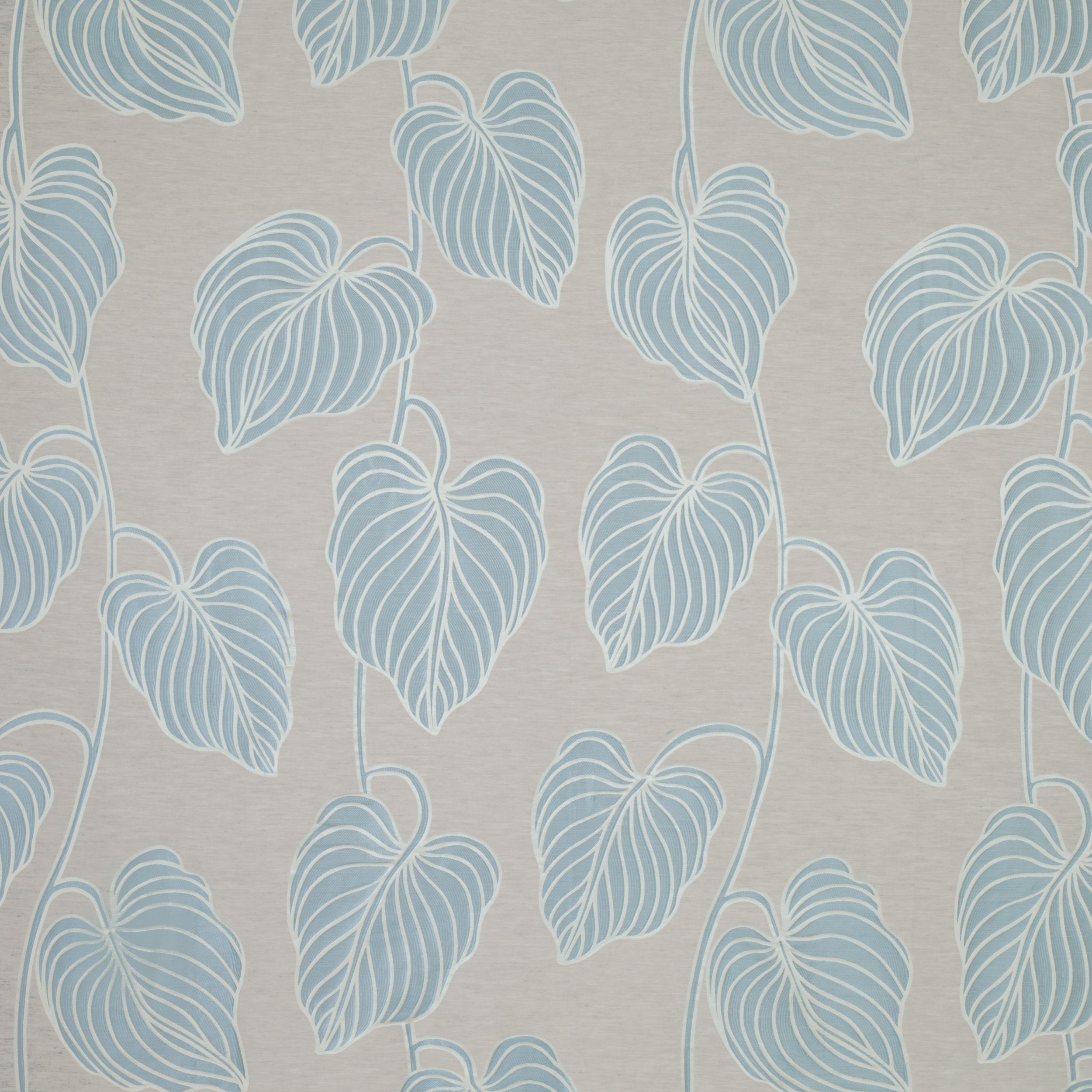 Manhattan blue leaf fabric | Fabric | Pinterest | Laura ashley ...