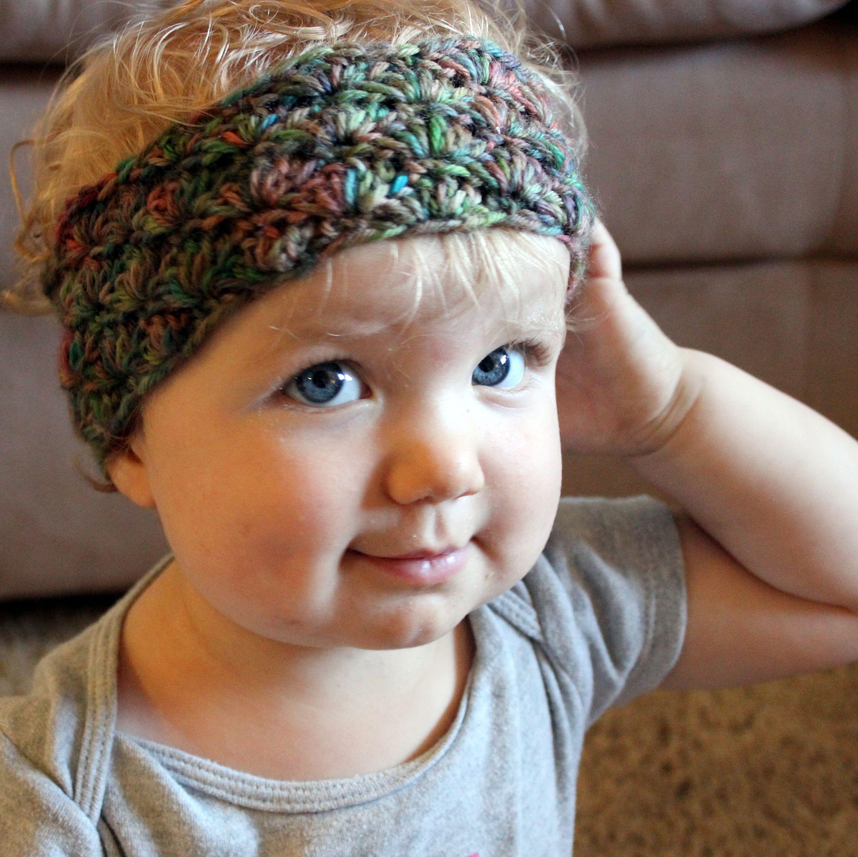 Simple Shells Toddler Headband - Free Crochet Pattern | Crochet ...