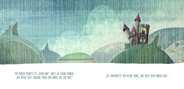 Der kleine König und die Poltergeister by Anja Meyer, via Behance