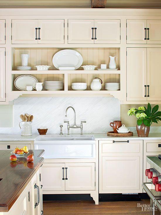 Download Wallpaper White Kitchen Unit Doors