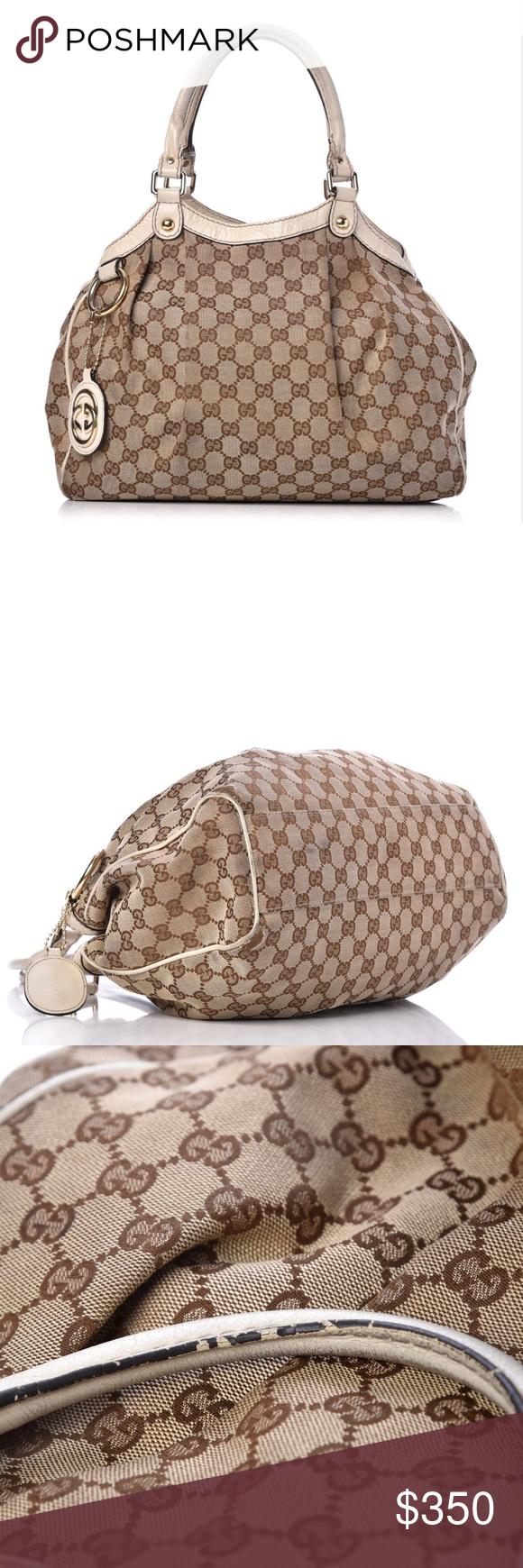 744aa8a8fec Gucci Monogram Guccissima Medium Sukey Tote Bag Gucci Guccissima Medium  Sukey Tote Bag. Good used